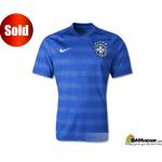 World Cup 2014 Brazil Away Jersey