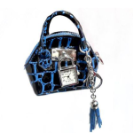 Ladies hand bag with watch