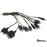 bdebazaar Universal 10 in 1 USB Charger Cable