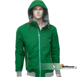 Bdebazaar PULL & BEAR Sports Jacket Green