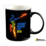 Cricket World Cup 2015 Magic Mug (Black)