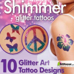 Shimmer Glitter Powder Tattoo Set