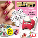 Hollywood Nails Art Designs