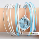 Bangles Watch Blue