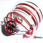 Bangles Watch Red & White