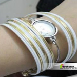 Exclusive Bangles Watch White & golden