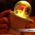 Color Changing Romantic crystal glob- touch sensor night light