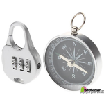 Compass and Pad Lock