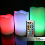 Remote Controlled Multi Color Candles