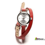 Stylish Long Belt Watch Red Color