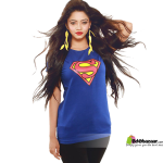 Superwoman Ladies T-shirt