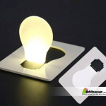 White Color LED Night Light Card Light